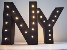 Zelf een licht letter maken – DIY