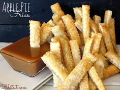 How To Make Apple Pie Fries | Food is my friend