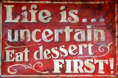 a good philosophy :-)