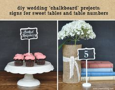 diy wedding projects using chalk markers and inspiration from Weddingbells Magazine