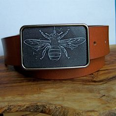 Bee Buckle. by InspiredSouth on Etsy, $32.00