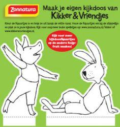 Kikker Kijkdoos haas en varken_klein_formaat Frog Theme Preschool, Crafts For Kids, Arts And Crafts, Preschool Lessons, 4 Year Olds, Happy Kids, Childrens Books, Felt, Creative