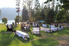 Weddings - Twinlow Camp and Retreat Center Wedding Reception, Wedding Venues, Wedding Ideas, Rent A Tent, Exposed Ceilings, Outdoor Picnic Tables, Lush Lawn, Twin Lakes, Water Activities