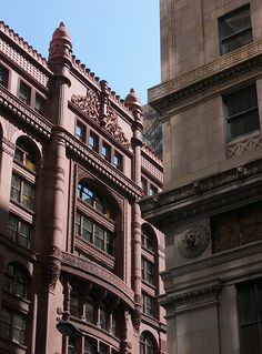 The Rookery, Chicago, IL (the building on the right is my office)