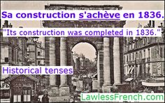 French historical tenses