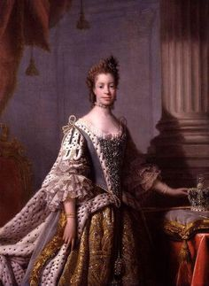 Queen Charlotte, wife of the English King George III (1738-1820), was directly descended from Margarita de Castro y Sousa, a black branch of the Portuguese Royal House.