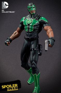 DC Collectibles has been revealing images of some upcoming products and coinciding with the debut of Simon Baz in Green Lantern's zero issue they announced that a Baz action figure is planned for release in the Spring of 2013.  Along with the announcement was an image of what the figure will likely look like.