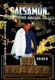Prepararos los de Guadix que hoy nos vemos en Caseta El Temazo a partir de las 0:30.  Ya recuperado de la pierna, que en las fiestas de Purullena no pude dar lo mejor de mí, preparaos para hoy no dejar de bailar con un servidor, Salsamon.