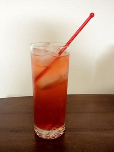 Sit back and ENJOY!! :D Garnish with a cherry, if desired.
