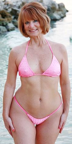 Beautiful curvy body of mature wife