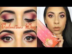 Too Faced Sweet Peach Ombre Valentine's Day Look - YouTube