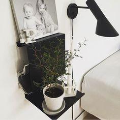 Anne Linde Ledge Hylle Hvit - Lunehjem.no - interiør på nett