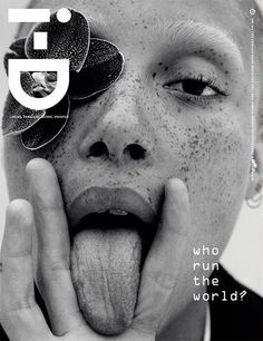 Adwoa Aboah for i-D Pre-Fall 2016 3 Covers