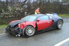A crashed car is a crashed car. Great cars don't make great crashes!