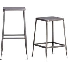 flint barstools in dining chairs, barstools | CB2 - a nice contemporary touch for my mix of modern/cottage style.