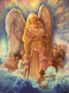 Guardian Angel of Children Josephine Wall (35 pieces)