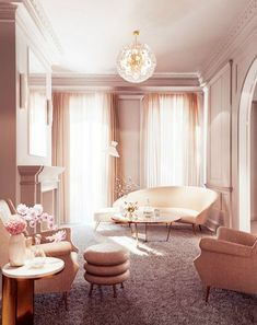 SIMPLY BLUSHING: 20 PINK INTERIOR DESIGN IDEAS - Fashion & Beauty Inc