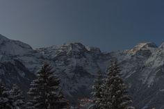 Tödi, Braunwald im Kanton Glarus Schweiz