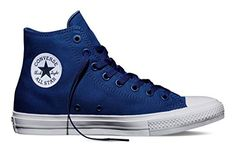 9a3ab1aeb2df16 Converse Unisex Chuck Taylor All Star II Hi Sodalite Blu Basketball Shoe  10.5 Men US   12.5 Women US
