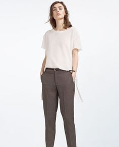 Skinny Clothes Zara Woman TrousersMust Have Pinterest Chino sQthrdC