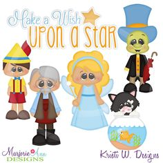 Wish Upon A Star~SVG-MTC-PNG plus JPG Cut Out Sheet(s) Our sets also include clipart in these formats: PNG & JPG