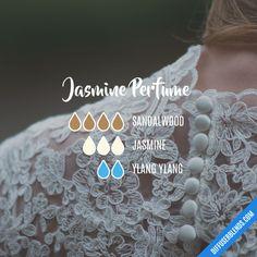 Jasmine Perfume - Essential Oil Diffuser Blend
