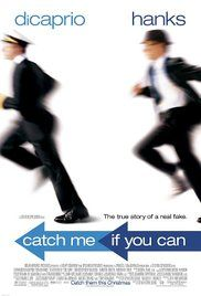 Catch Me If You Can With Leonardo DiCaprio, Tom Hanks, Christopher Walken. Written by Jeff Nathanson, Frank Abagnale Jr. and Stan Redding. Directed by Steven Spielberg. Frank Abagnale, Film Movie, See Movie, Movie List, Martin Sheen, Image Internet, Film Mythique, Bon Film, Movies Worth Watching