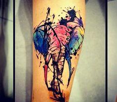 Elephant Tattoo by Roger at 13f Tattoo Art Studio
