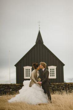 Intimate Icelandic Elopement: Sophia & James