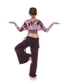 Electric Tie-Dye Organic Ballet Sleeves