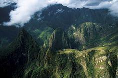 Machu Picchu, Peru, Yann Arthus-Bertrand http://www.thextraordinary.org/yann-arthus-bertrand