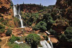 Cascata de Ouzoud, Marrocos   Foto: Mário Tomé.