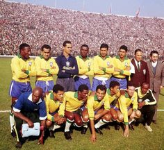 Seleção Brasileira - Copa do Mundo 1962 - Chile - Bicampeão