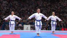 (2/2) Bronze Female Team Kata Venezuela vs France. WKF World Karate Cham...