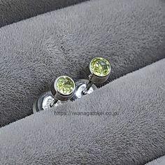 #ペリドット,#peridot,#peridotjewelry,#peridotearrings,#ペリドットピアス Cufflinks, Accessories, Wedding Cufflinks, Jewelry Accessories