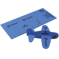 Mailable airplane puzzle -- Mailable airplane puzzle is great for company picnics, tradeshow giveaways. Compact and fun toy. Once assembled insert coin for flying. Lasts longer than balsa wood planes.