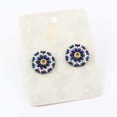 TOPOS AZUL ROYAL - Comprar en accesorios Ave Maria Azul Royal, Notebook, Floral, Rings, Jewelry, Hail Mary, Stud Earrings, Blue Nails, Accessories