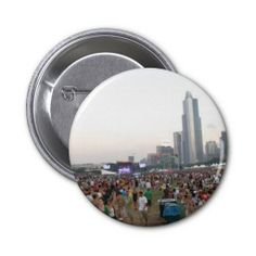 Radiohead at Lollapalooza Pinback Button