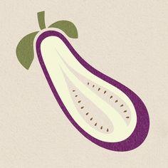 SANUKKA - Aubergine - Eggplant - illustrated by Saana Essel 2013