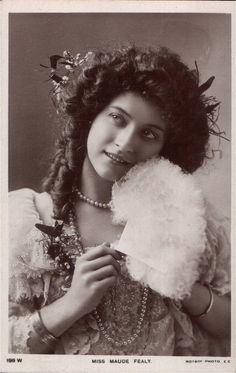 Vintage actress Miss Fealy I by MementoMori-stock.deviantart.com on @deviantART