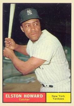 baseball cards  elston howard | ... set name 1961 topps card size 2 1 2 x 3 1 2 number of cards in set 592