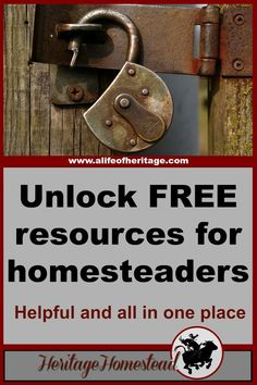 Homesteading | Homesteading tools | Homesteading resources | Homesteading is hard work. We would like to step in and help you out. We have a free resource page for homesteaders just like you, our subscriber. :)