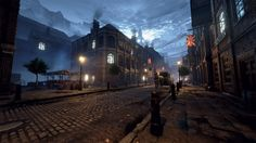 Unreal Engine 4 - Victorian London Environment, Michal Baca on ArtStation at https://www.artstation.com/artwork/e9Y4w