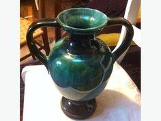 blue mountain pottery vase