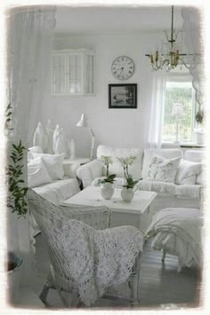 LOVE LOVE LOVE LOVE LOVE THIS 37 Enchanted Shabby Chic Living Room ...