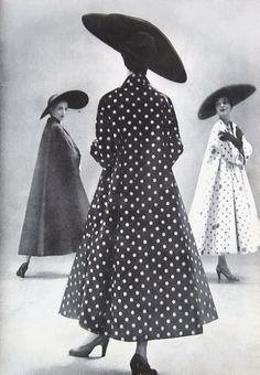 Harper's Bazaar June 1949 Reminds me of my Mother and Aunt