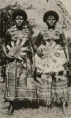 schöne Fijian Frauen