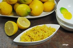 How to conserve lemons: juice and zest