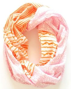Dream of Paisley Infinity Scarf<3