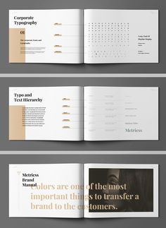 Brand Manual  Brand Manual Design Guidelines And Corporate Design